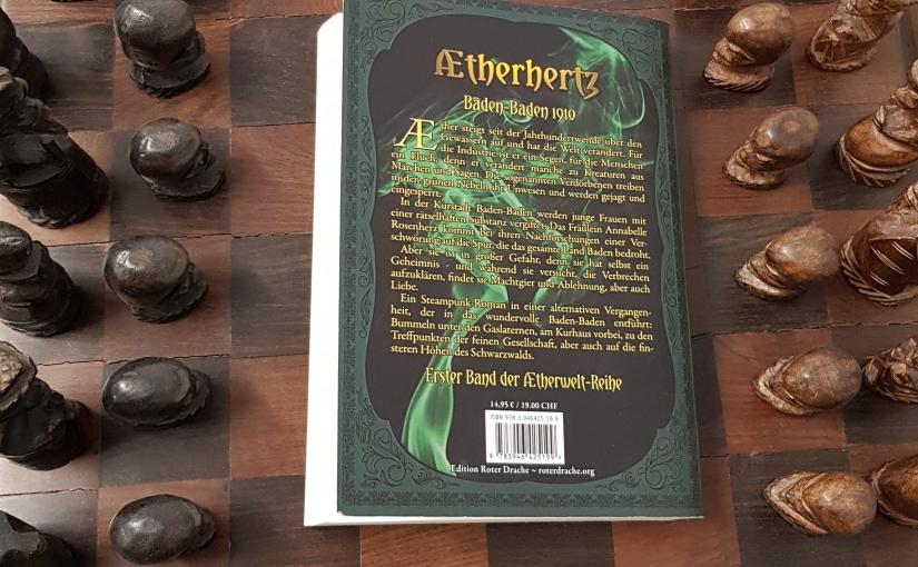 Rezension Aetherhertz (Autorin AnjaBagus)